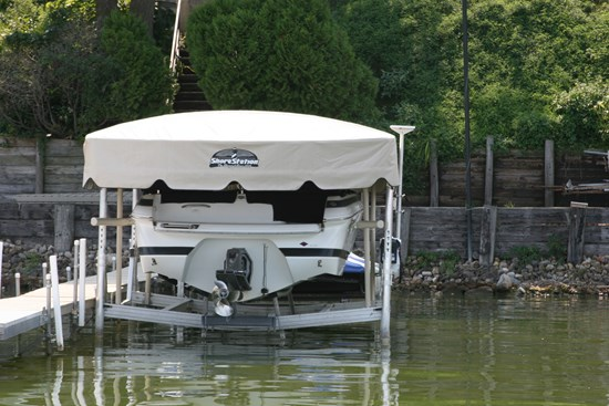 Free Standing Boat Lift 19