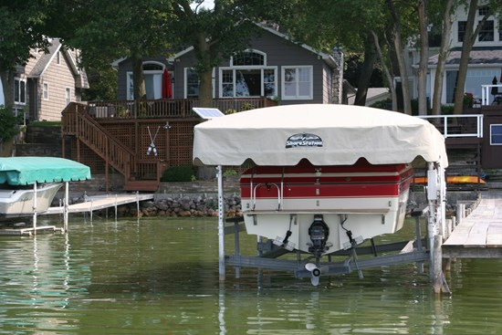 Free Standing Boat Lift 22