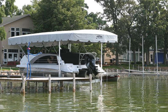 Free Standing Boat Lift 23