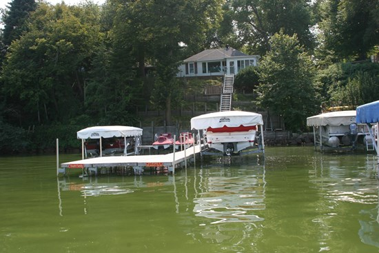 Free Standing Boat Lift 28