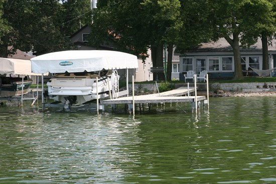Free Standing Boat Lift 29