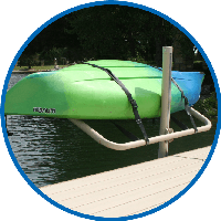 single Paddle board & Kayak Storage Rack